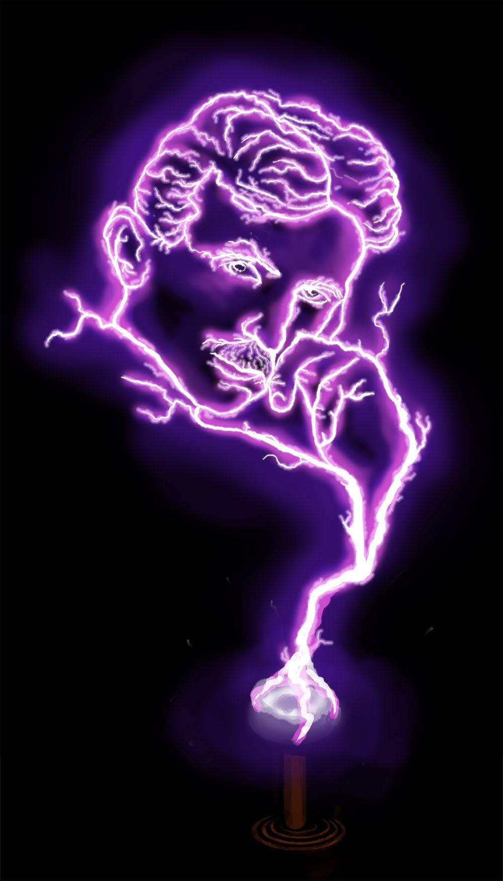 Inspiration For Teslas Tattoo Nikola Tesla Tesla Coil