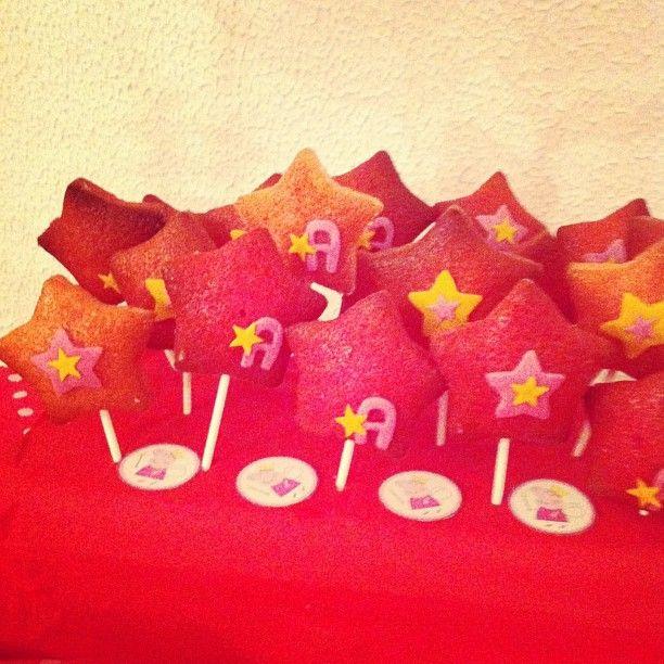 Star pop cake, party Peppa pig... bacchetta magica!!