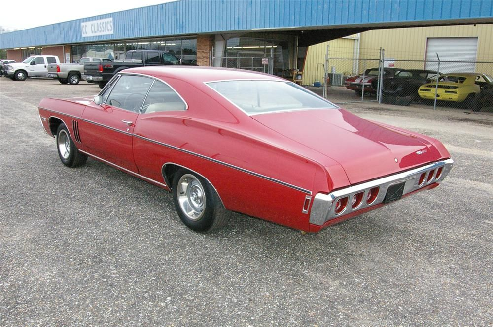 1968 Impala 2 Door Did Over 100 Miles Per Hour 1968 Chevy