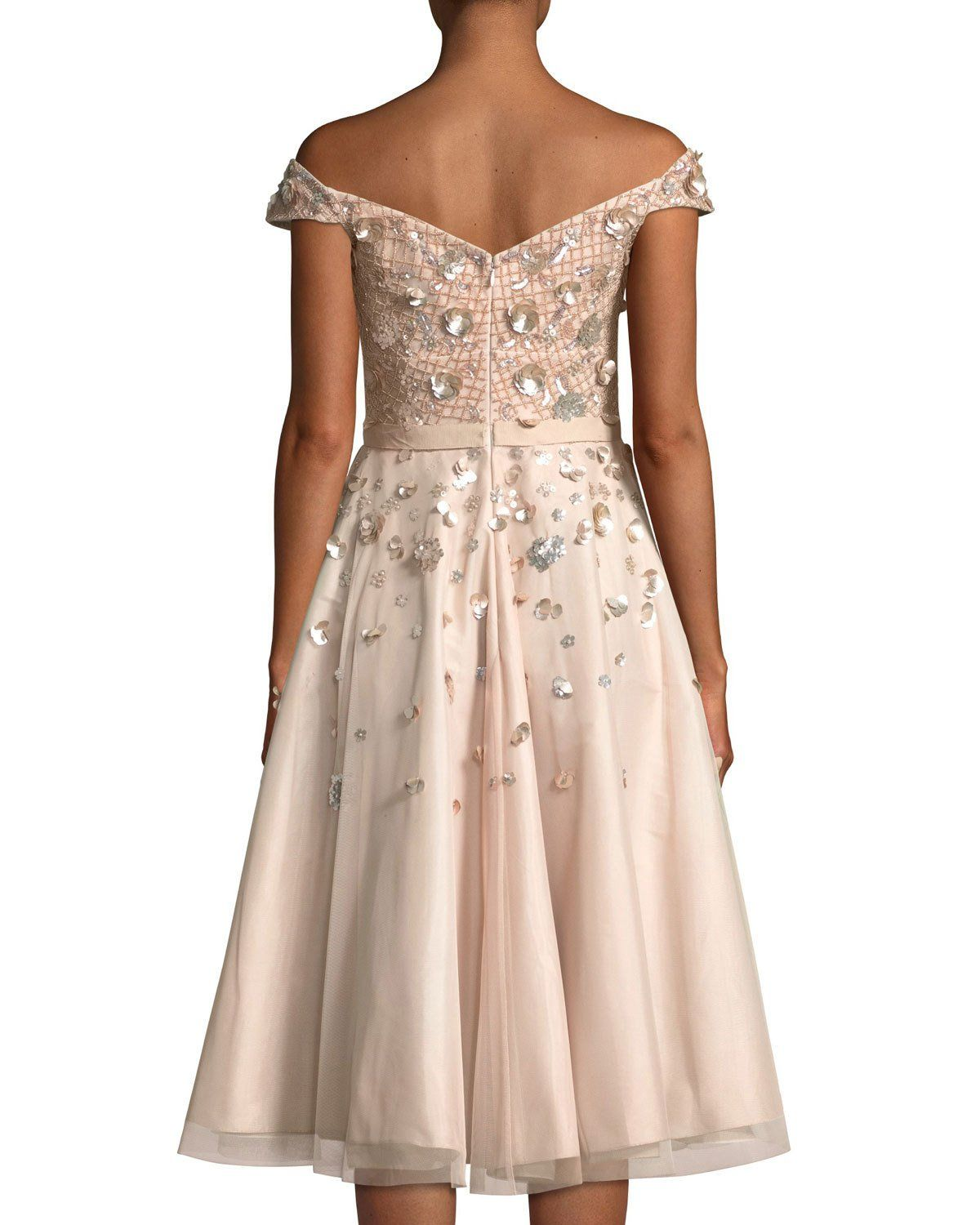 Off The Shoulder Embellished Cocktail Dress Products Aidan