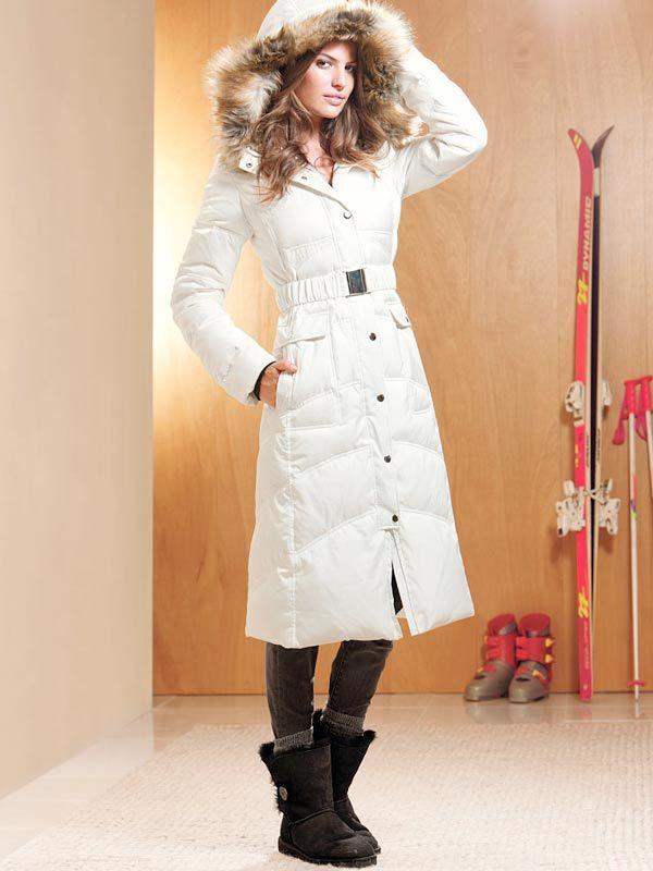 Victoria Secret UGG Australia Boots   Long puffer coat ...
