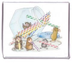 """Magnet - Want? Candy? NOW"", Stock #: M-2011-11, from House-Mouse Designs®. This item was recently purchased off from our web site, www.house-mouse.com. Click on the image to see more information."
