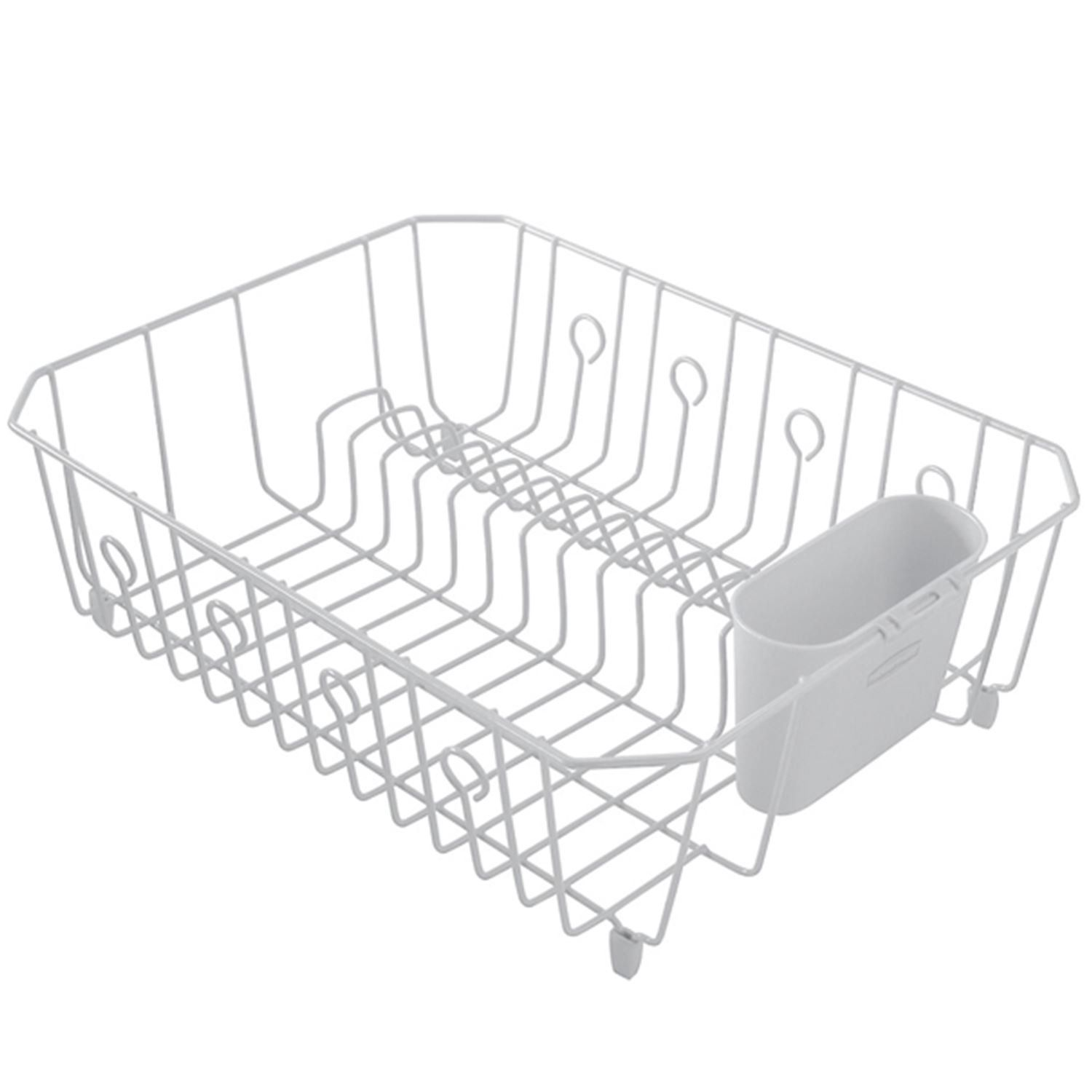 Amazon Com Rubbermaid Antimicrobial In Sink Dish Drainer With
