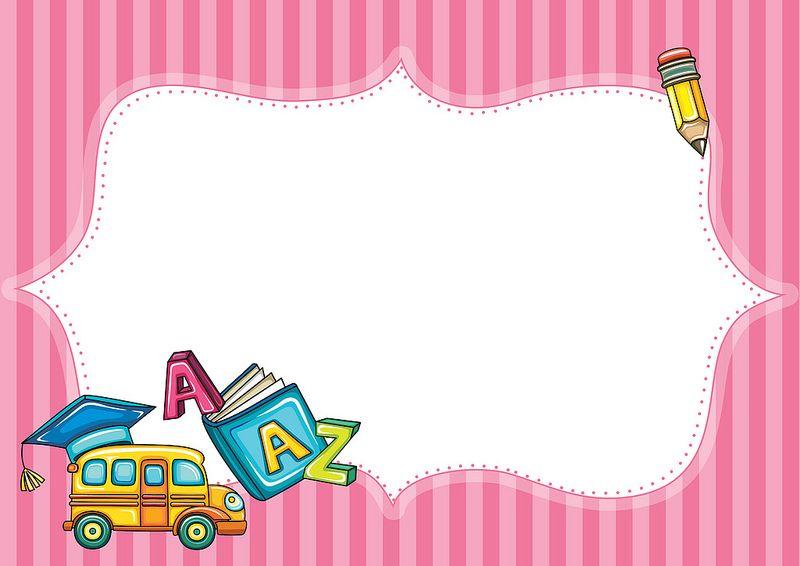 شهادة تقدير لمادة اللغة الانجليزية Car Birthday Theme School Posters Presentation Backgrounds