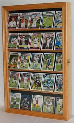 Baseball card display case shadow box cabinet with glass door baseball card display case shadow box cabinet with glass door cc01 oa ebay planetlyrics Gallery