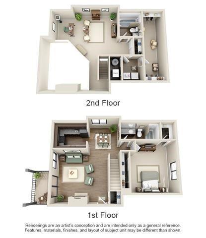 Floor Plans of Ashford Belmar in Lakewood, CO casa1 Pinterest