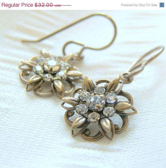Earrings ONSALE Swarvoski Crystal Stardust Earrings by LunaEssence, $28.80