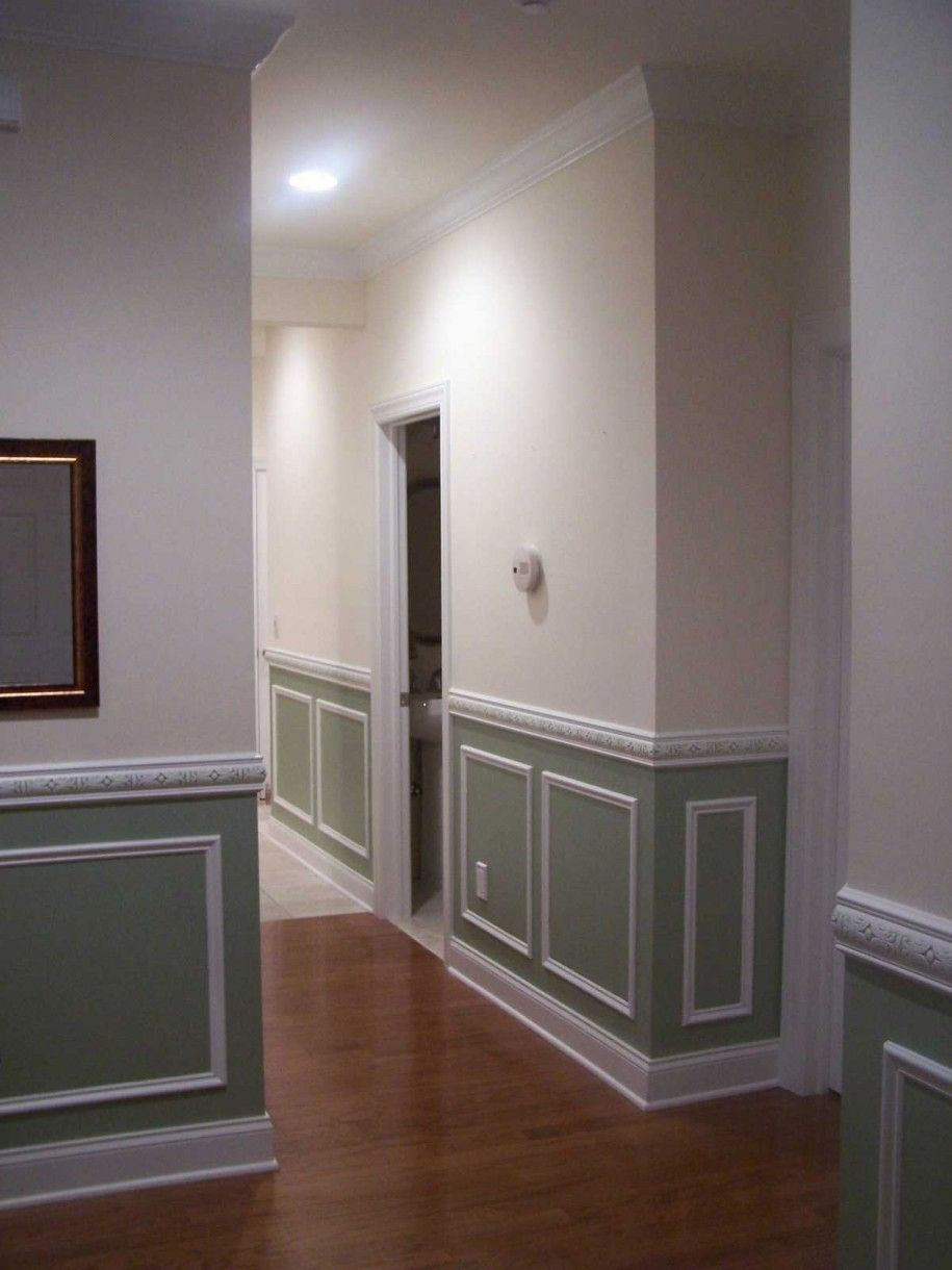 Lovely Purchase Your Interior Through Wainscoting Ideas : Painted Wainscoting