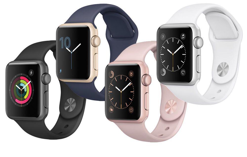 New Apple Watch Series 1 38mm Smartwatch Aluminum Case Sport Band Variations New Apple Watch Apple Watch Smart Watch