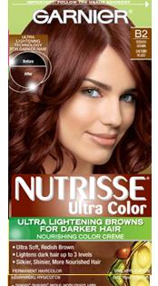 Nutrisse Ultra Color Hair Color For Darker Hair B2 Reddish Brown