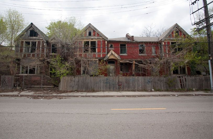 Marvelous Abandoned Fisher Row Houses Detroit Mi Modern Ruins Download Free Architecture Designs Licukmadebymaigaardcom