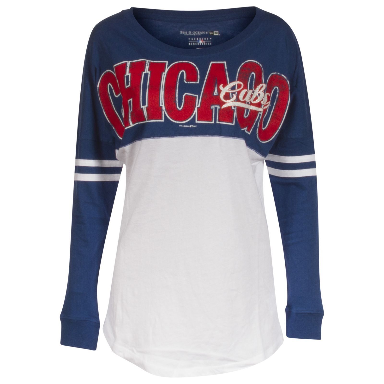 Chicago Cubs Womens Royal And White Front And Back Script Logos Long Sleeve Shirt By 5th Ocean Chicago Cubs Long Sleeve Shirts Cubs Clothes Hoodies Womens [ 1600 x 1600 Pixel ]