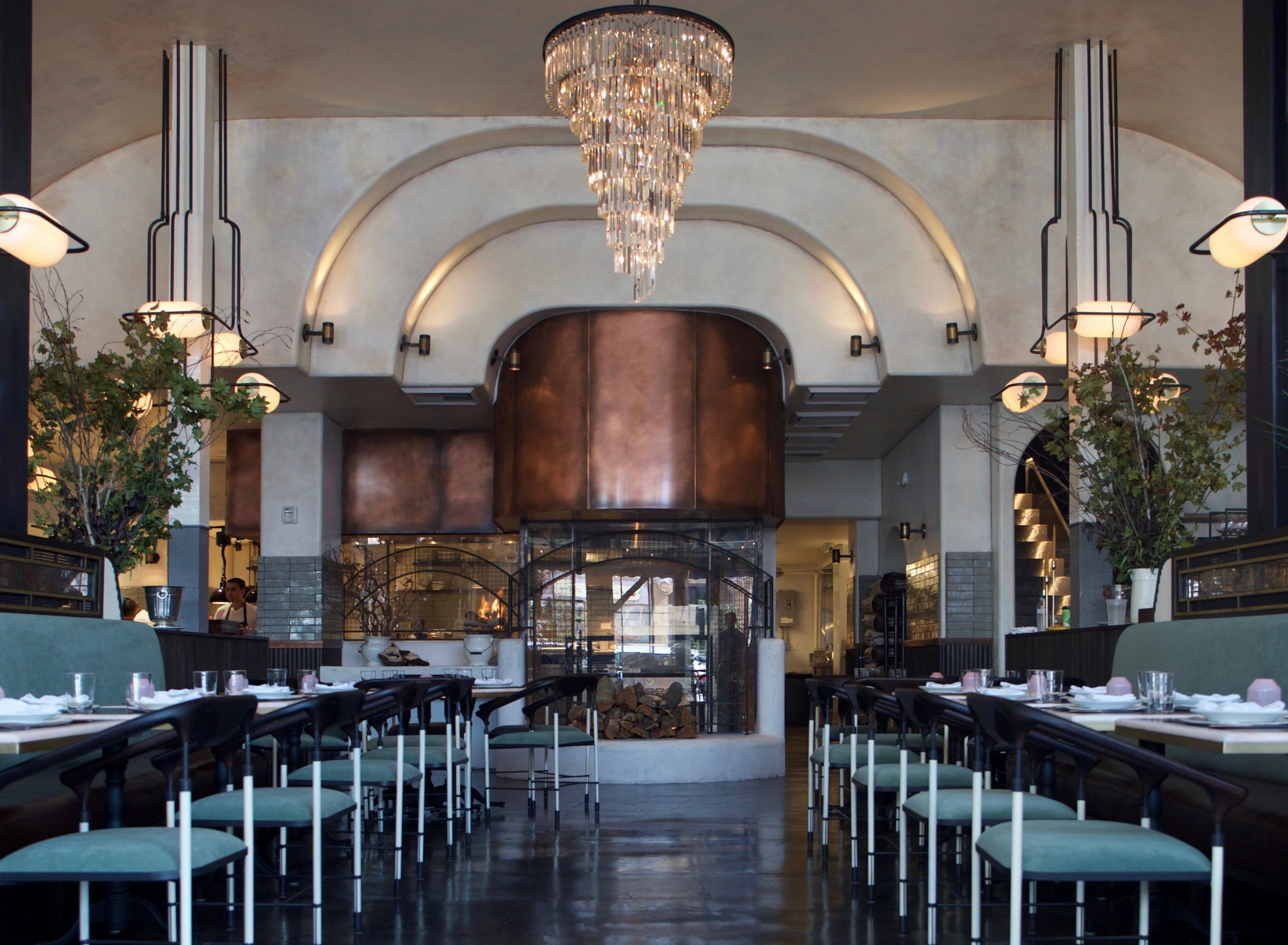 bar interiors design 2. LOVE The Iron Bars That Give Columns Shape And Transparancy! Gwen Restaurant \u0026 Butcher Shop, Hollywood - Cool Hunter Bar Interiors Design 2