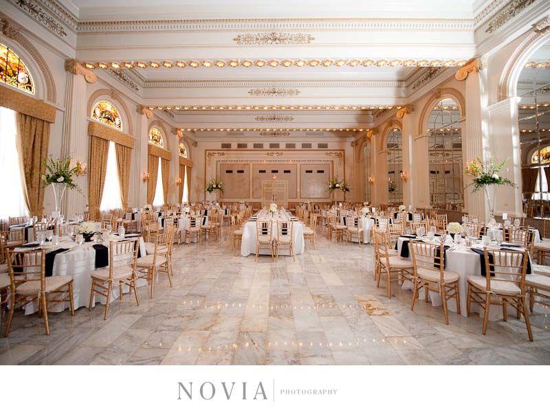 The Westin Columbus Grand Ballroom Wedding Set Up