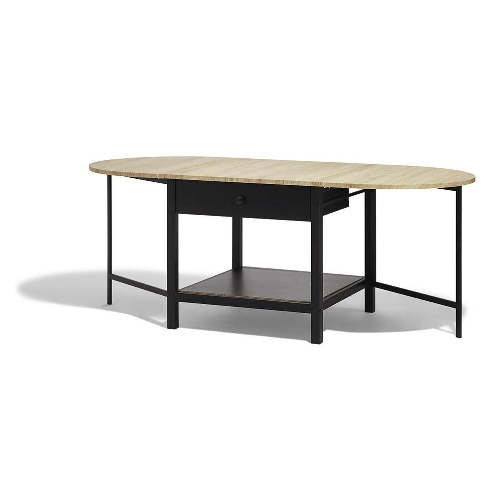 Table Basse Rabattable Noire Bristol 1 Tiroir Table Basse Meuble Gifi Magasin Gifi