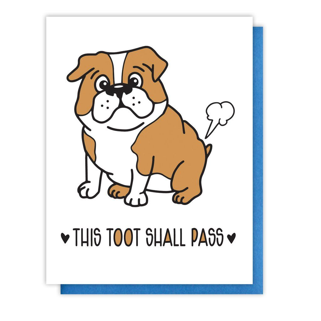 Here for You Shorty Sweet Encouragement Letterpress Card kiss and punch Corgi Face