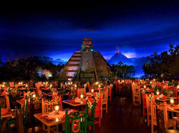 Mexican Restaurant Magic Kingdom