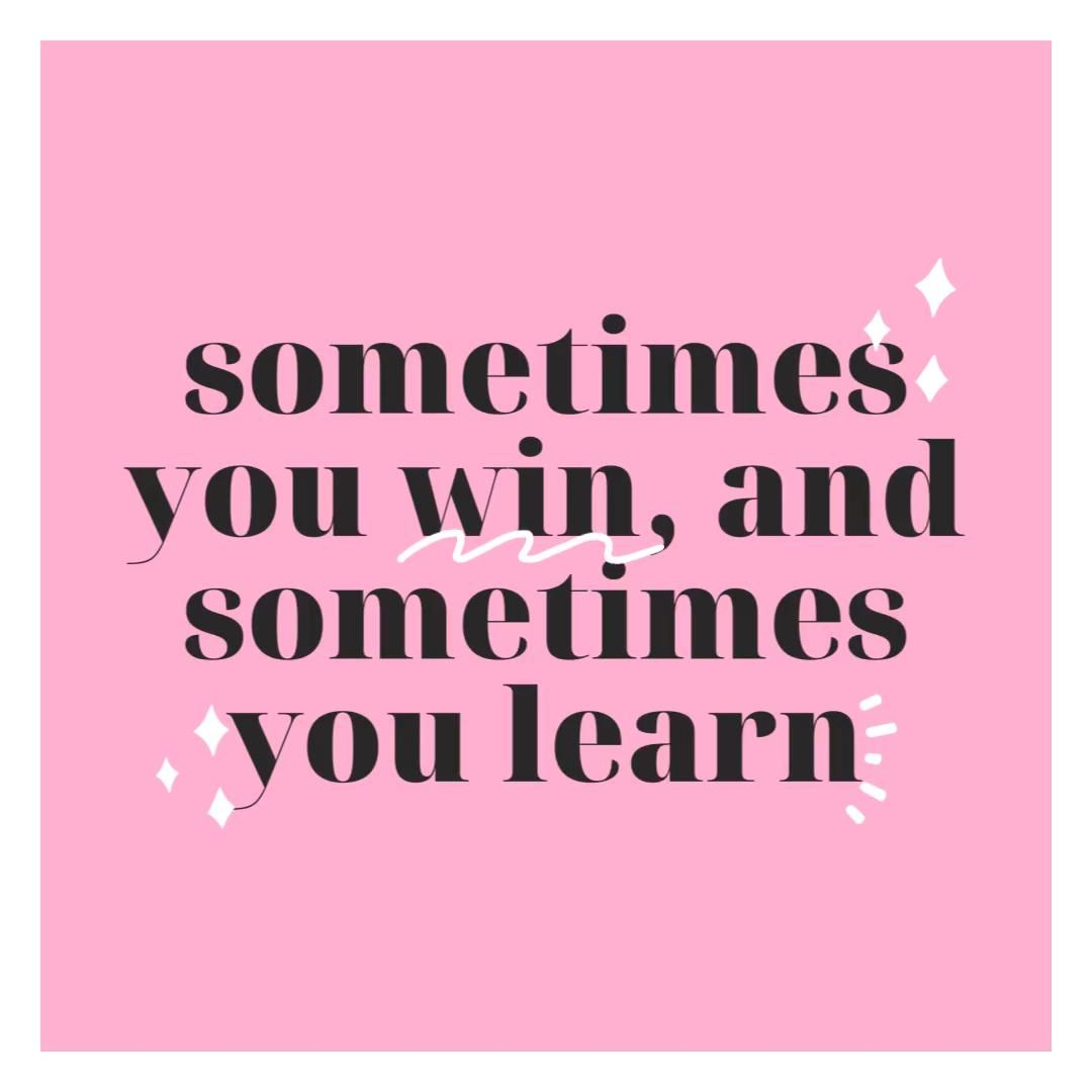 Learn and Grow 💗