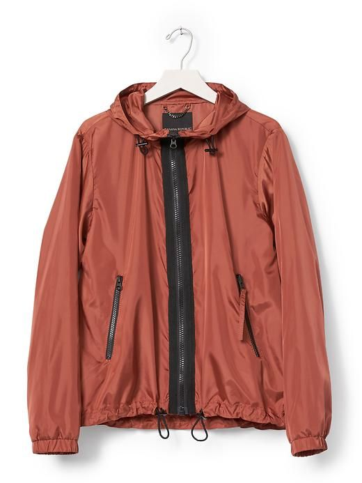 Rust Packable Jacket Product Image