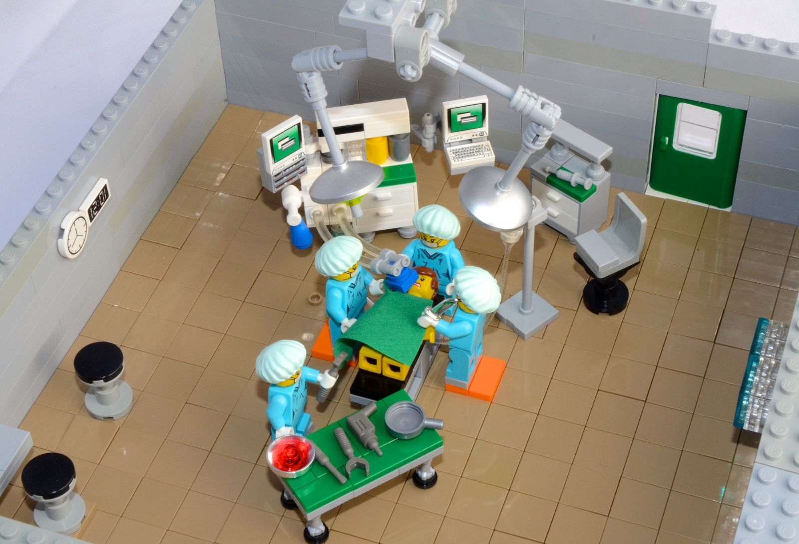 Lego Operating Room Moc 3 Lego Lego Lego Furniture Lego Hospital