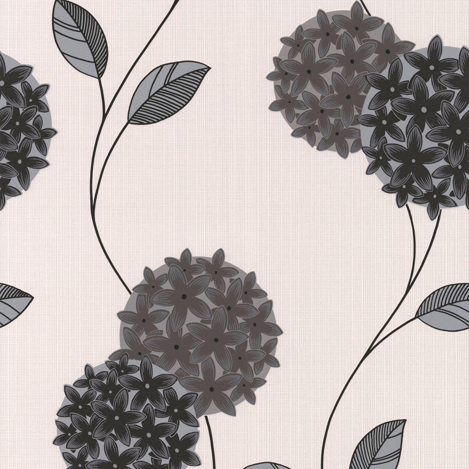 Super Fresco Paste The Paper Pippa Cream & Grey Wallpaper