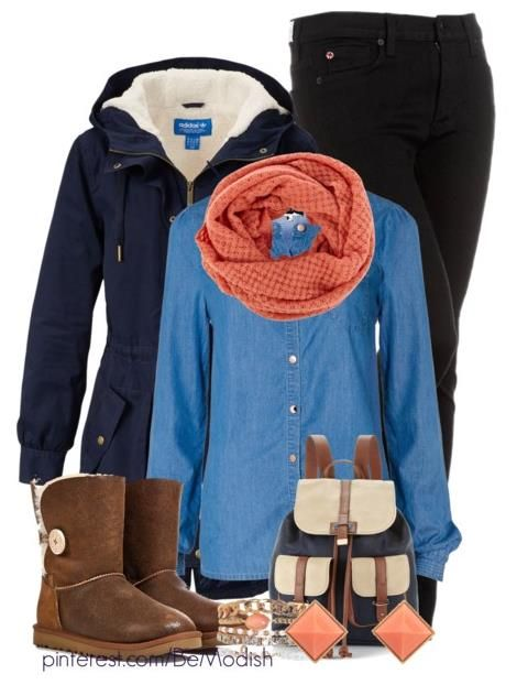 0ac22f494a621 How to Wear Denim Shirt For Winter Outfit | Just give me the money ...