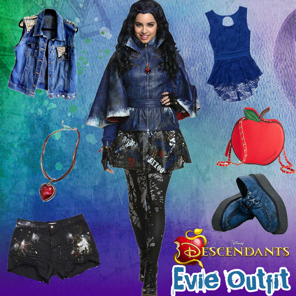 Descendants Style Series: Evie Outfit | Halloween | Disney