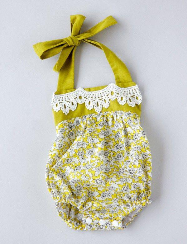 Free pattern: Boho baby romper | Boho baby, Free pattern and Boho