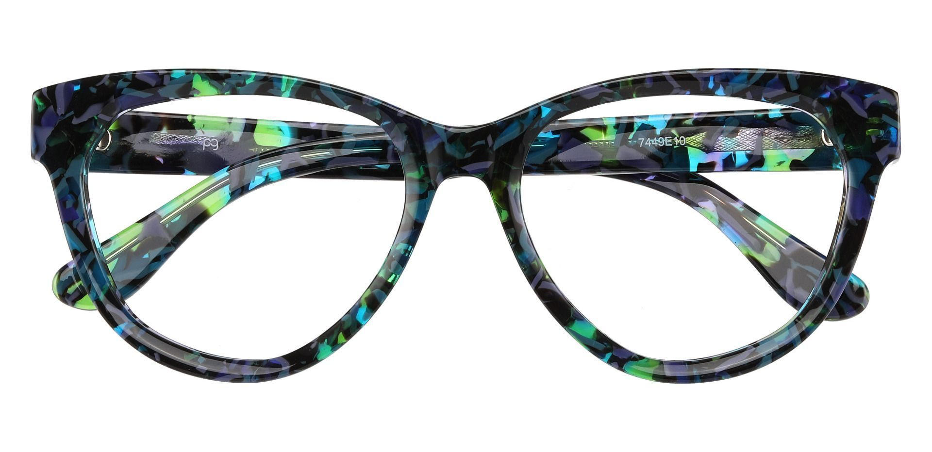 Vienna Cat Eye Eyeglasses Frame - Green