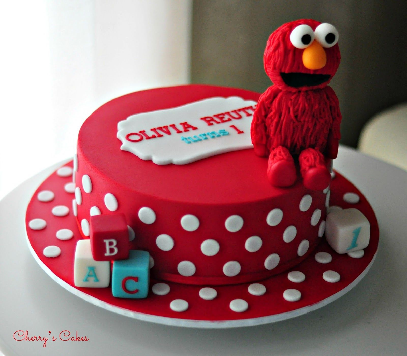 Surprising Elmo Birthday Cake This Is A Simple Example Of A Birthday Cake Personalised Birthday Cards Cominlily Jamesorg