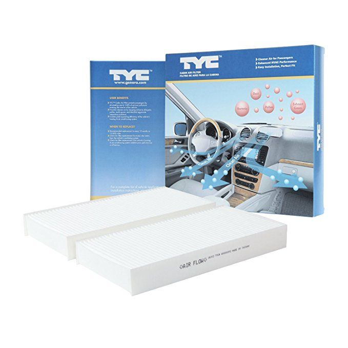 Tyc 800001p2 Honda Replacement Cabin Air Filter Cabin Air Filter Tyc Air Filter
