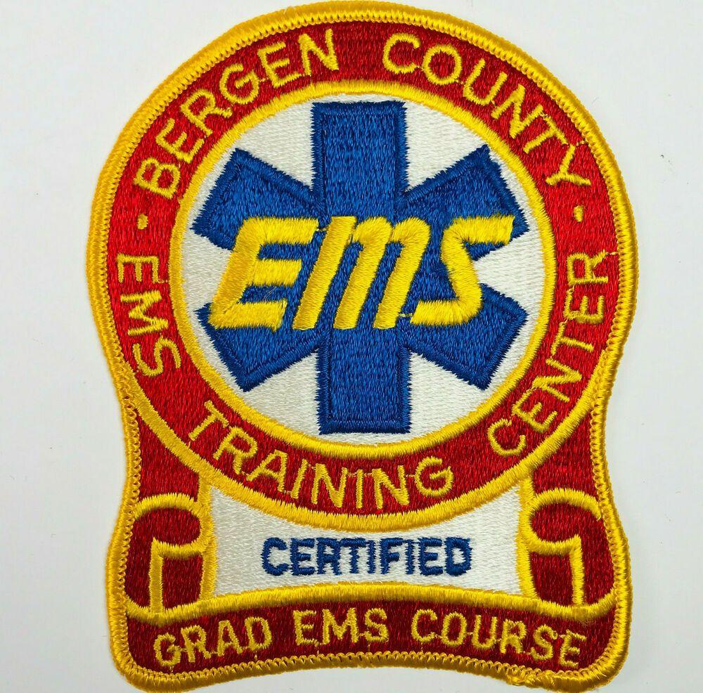 Bergen County EMS Training Center Certified Grad EMS