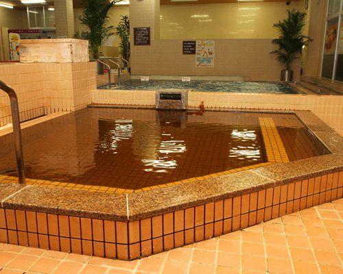 石和健康ランド 薬草風呂 ホテル 宿泊 風呂 お風呂