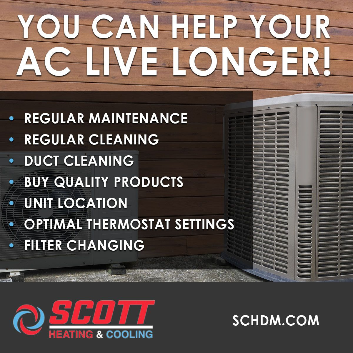 Keep Your Ac Alive With 7 Simple Tips Bettercallscott Www Schdm