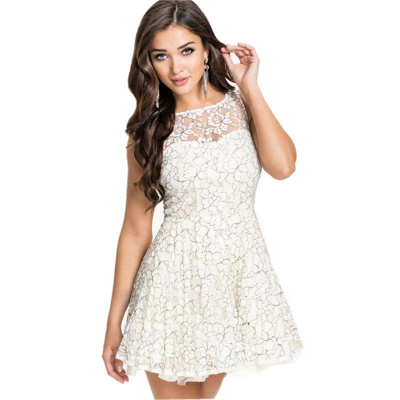 Sexy-white-dresses-2015-elegant-pretty-lace-princess-dress-font-b ...