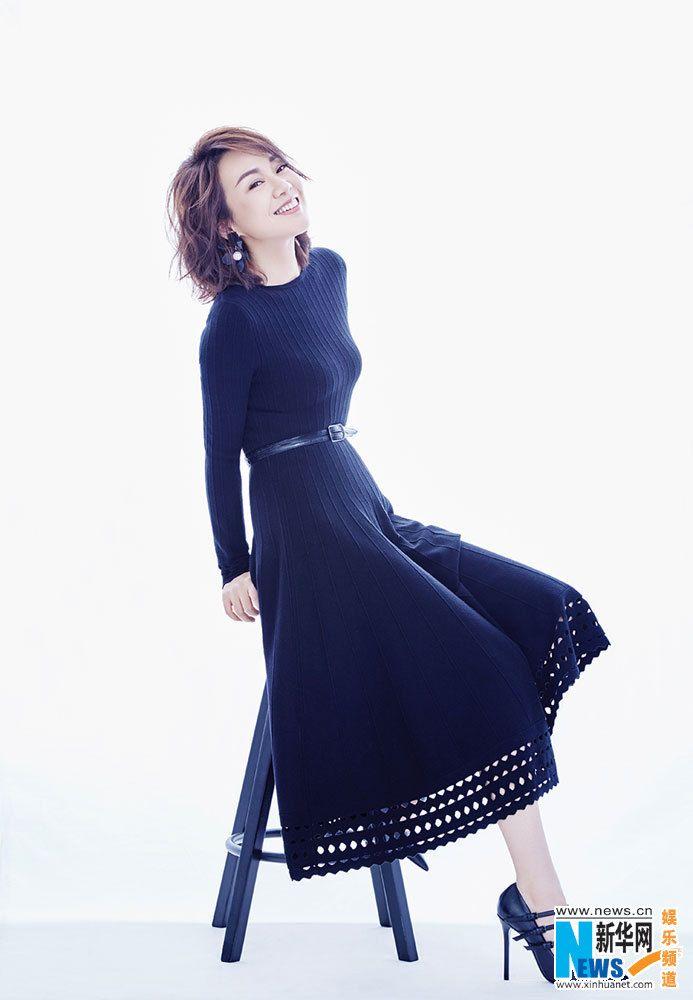 China Entertainment News: Yan Ni poses for photo shoot
