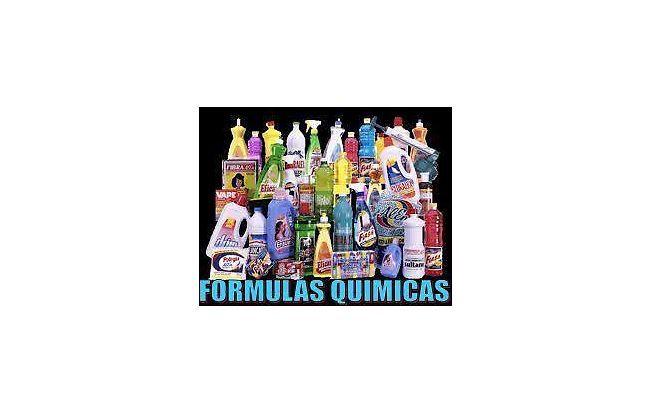 formulas para productos de limpieza cosméticos belleza