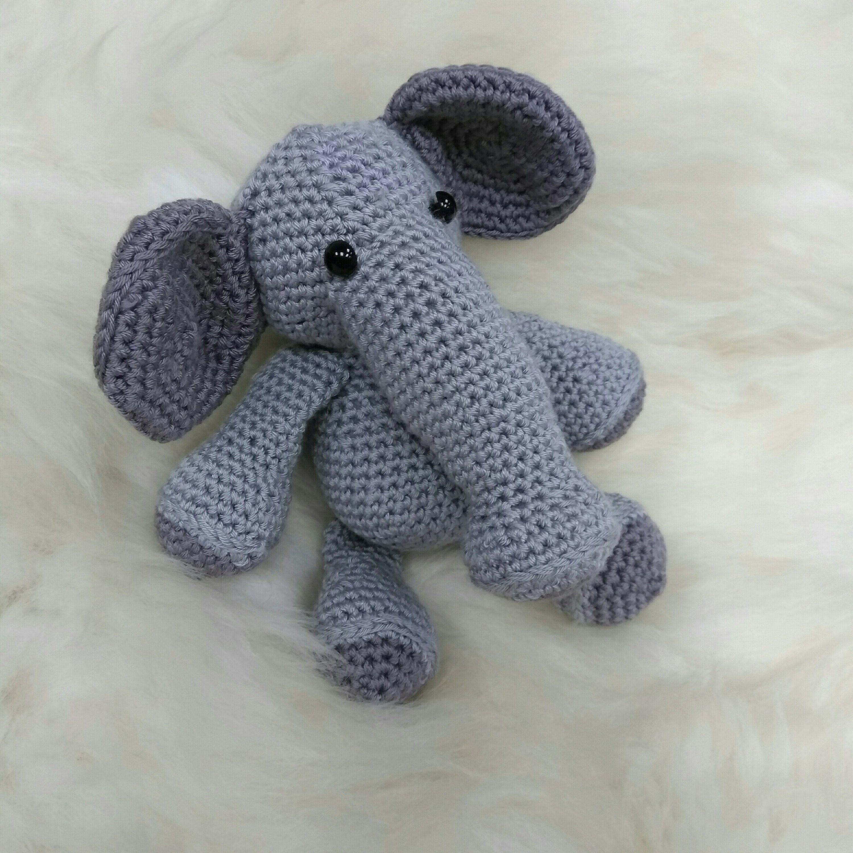 Elephant Amigurumi - Free Crochet Pattern • Craft Passion   3000x3000
