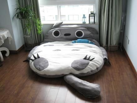 Tempt kids into bed at night, and wake them with Totoro bread in the morning.