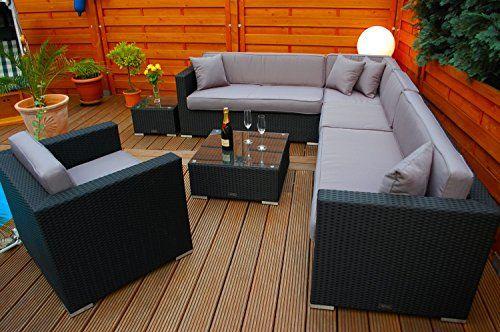 Polyrattan Lounge Deutsche Marke Eignene Produktion 7 Jahre Garantie Garten Mobel Incl Glas Und Pols Polyrattan Lounges Gartenmobel Outdoor Lounge Mobel