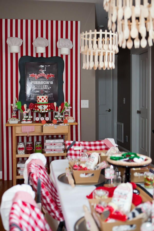 little chef pizza party 8 creative birthday party themes for kids