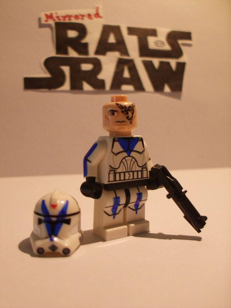 501st Clone Custom Trooper Dogma Lego Star Wars minifigures