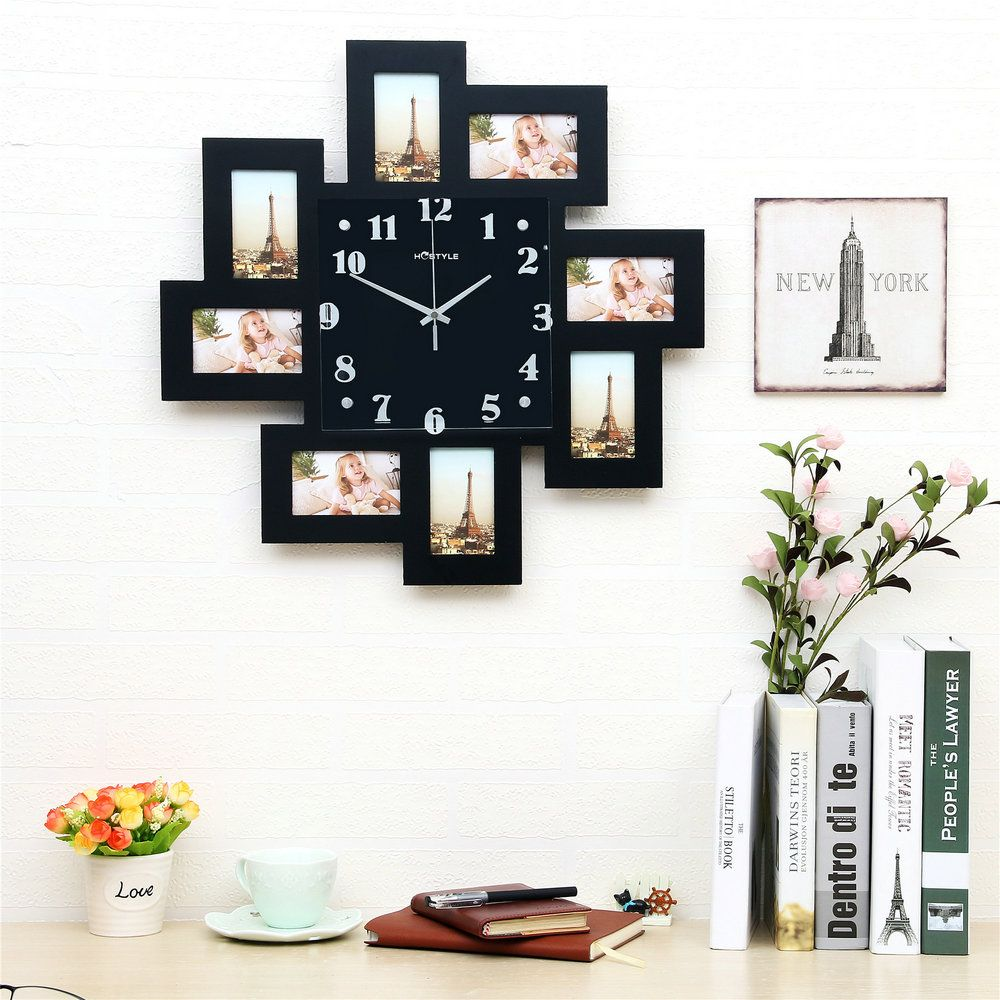 Modern Simple Style Creative Clock Children Room Living Room Photo ...