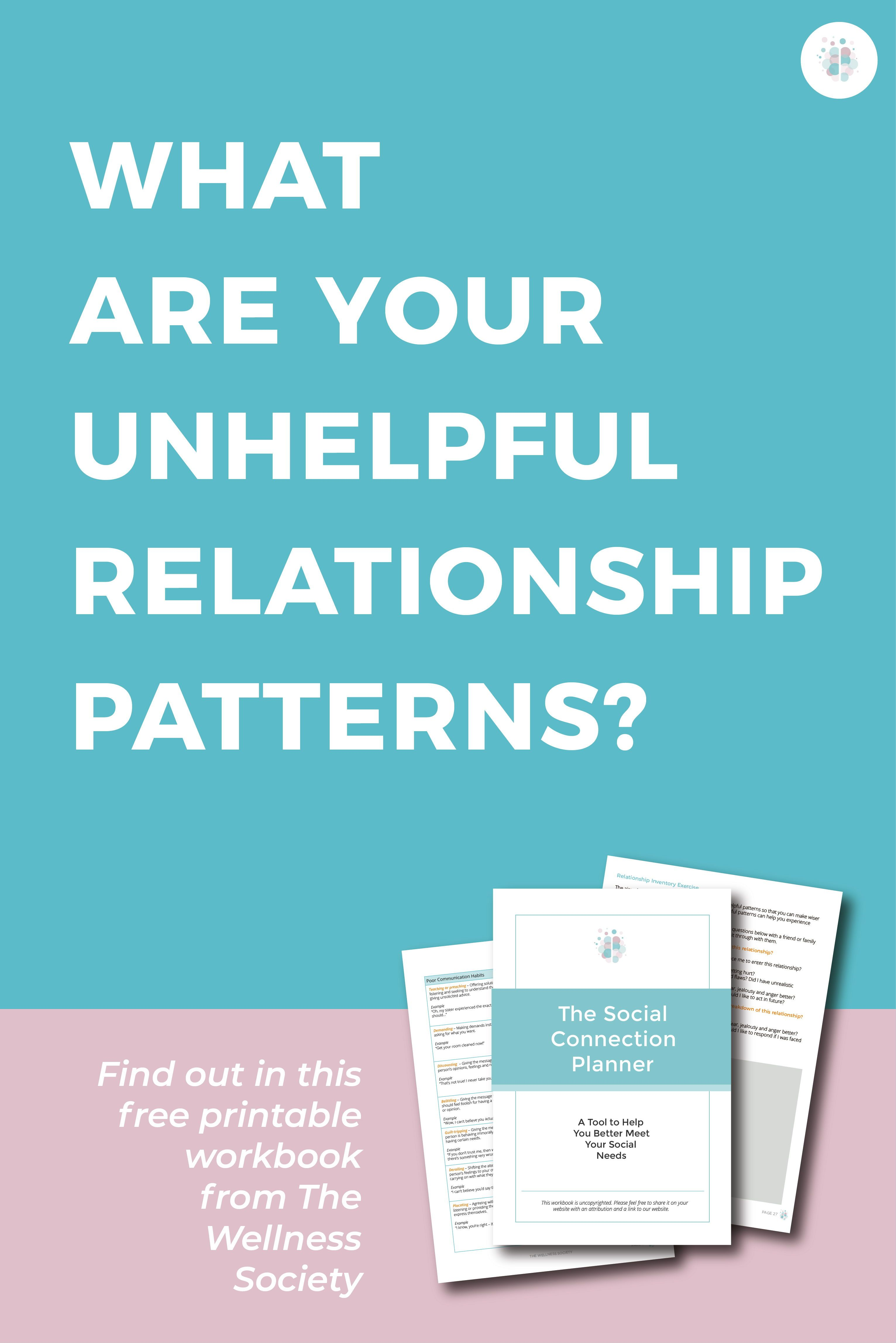 Gain Insight Into Your Unhelpful Relationship Patterns