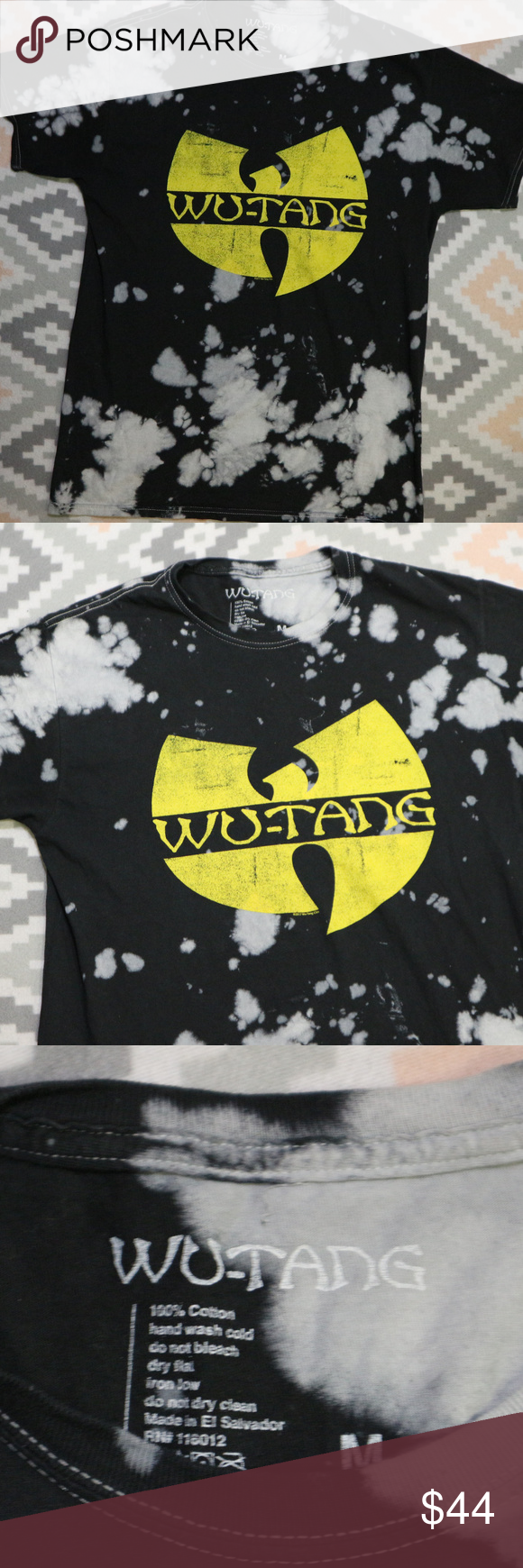 455c231d1c1 WU-TANG Clan Tie-dye Tee Excellent condition inside and out