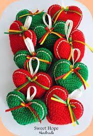 Resultado de imagen para adornos navide os artesanales - Adornos navidenos crochet ...