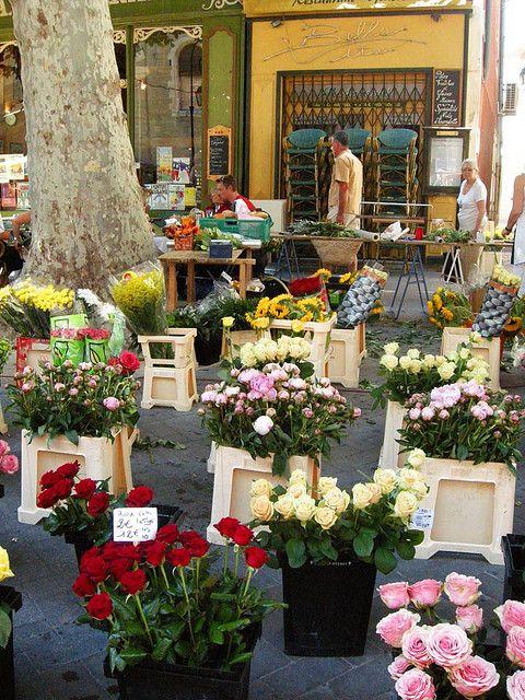 Marche L Isle Sur La Sorgue Flower Market L Isle Sur La Sorgue Provence