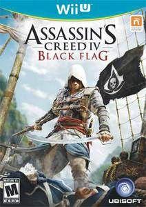Assassin S Creed Iv Black Flag Wii U Game Games Pinterest