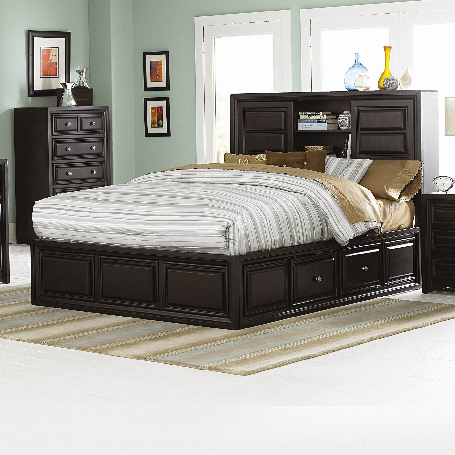 Woodbridge Home Designs Abel Panel Bed Bedroom Sets Master