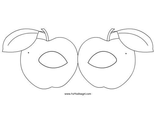 Masque, Carnaval Et Fruits Et Légumes